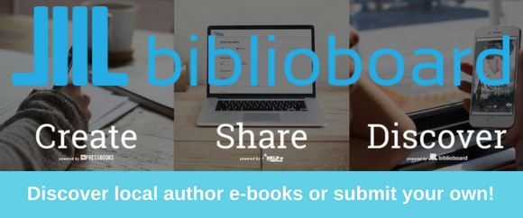 Create Share and Discover Local Author E-books on Biblioboard Library