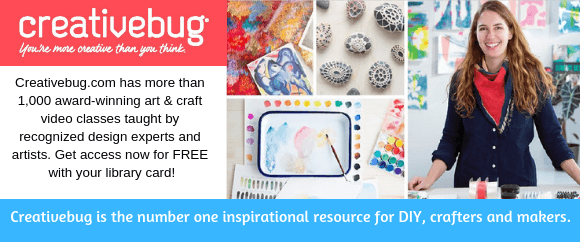 Creativebug.com has more than 1000 award-winning art and craft video classes!