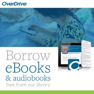 Borrow ebooks and audiobooks from OverDrive